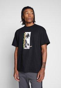 Carhartt WIP - MONTEGO - T-shirt med print - black - 0