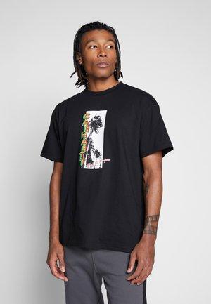 MONTEGO - T-shirt med print - black