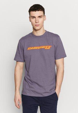 SPORT SCRIPT - Print T-shirt - decent purple