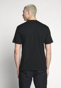 Carhartt WIP - SPORT SCRIPT - T-shirt med print - black - 2