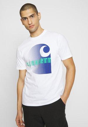 ILLUSION - T-shirt imprimé - white