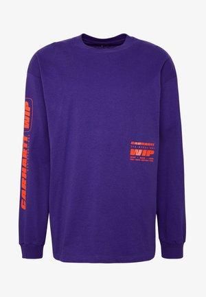 INTER - Långärmad tröja - purple