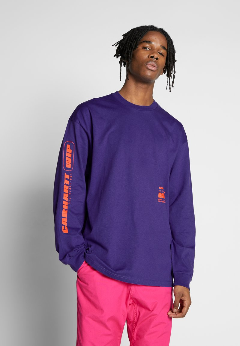 Carhartt WIP - INTER - T-shirt à manches longues - purple