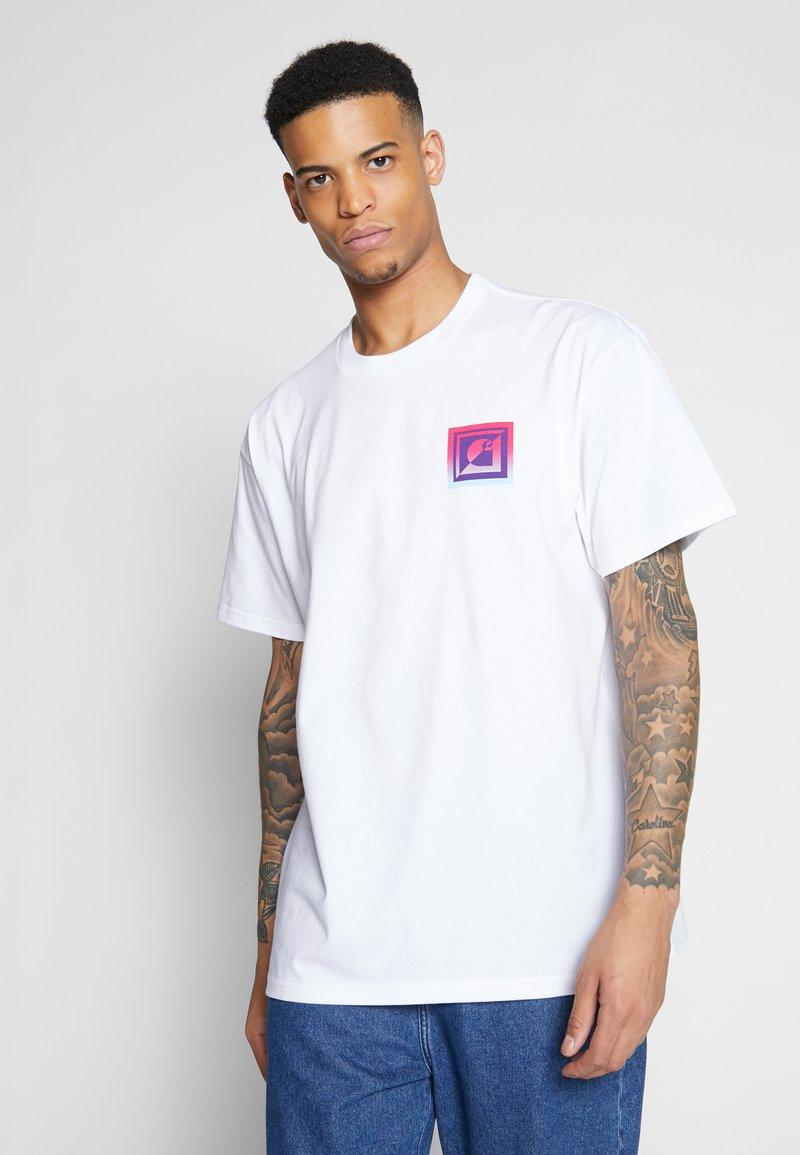 Carhartt WIP - RECORD CLUB - T-shirt med print - white