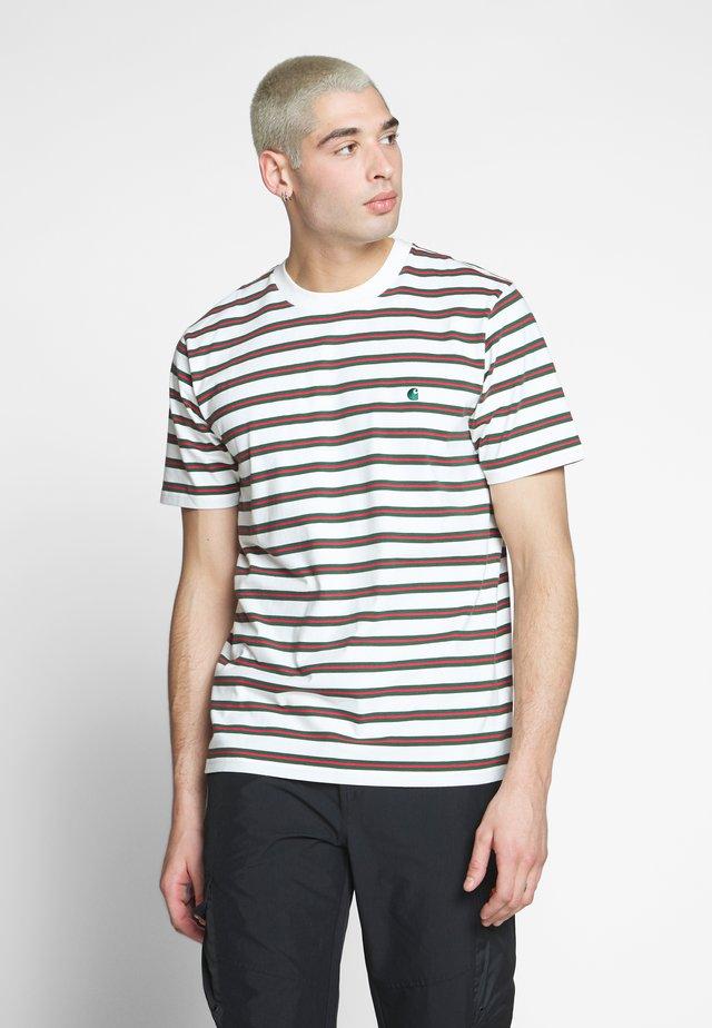 OAKLAND  - T-shirt z nadrukiem - oakland stripe, wax  treehouse