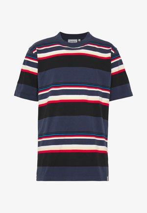 SUNDER  - Print T-shirt - blue