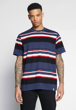 SUNDER  - T-shirt med print - blue