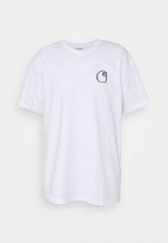 COMMISSION LOGO - T-shirts med print - white
