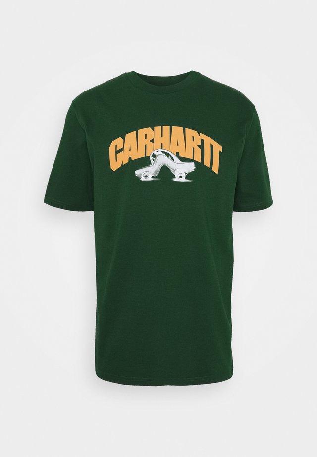 BENT - T-shirt print - bottle green