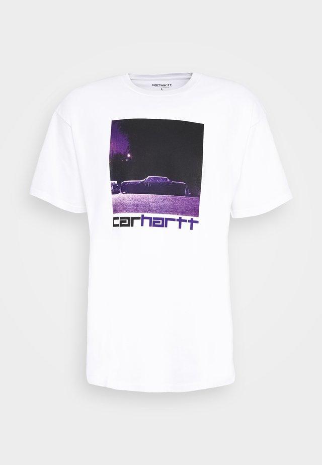 CAR - T-shirts med print - white