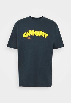 LOONY SCRIPT - Print T-shirt - admiral