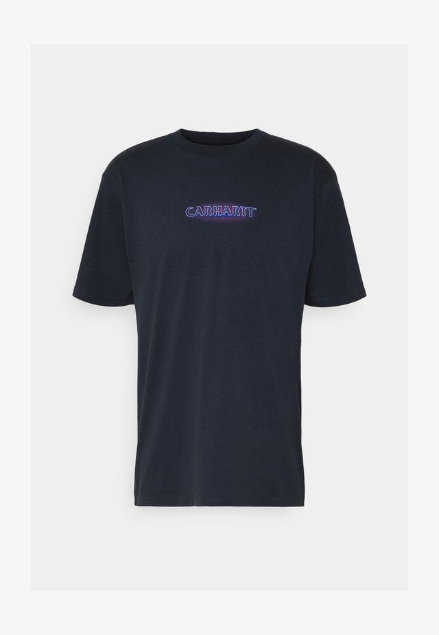 NEON SCRIPT  - T-shirts med print - admiral