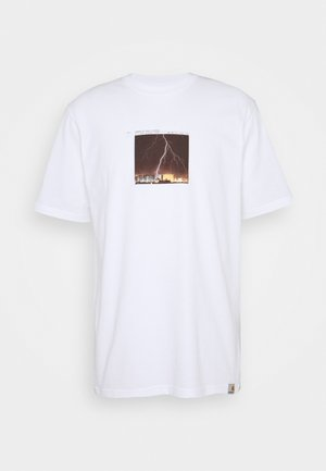 THUNDERBOLT - T-shirt imprimé - white