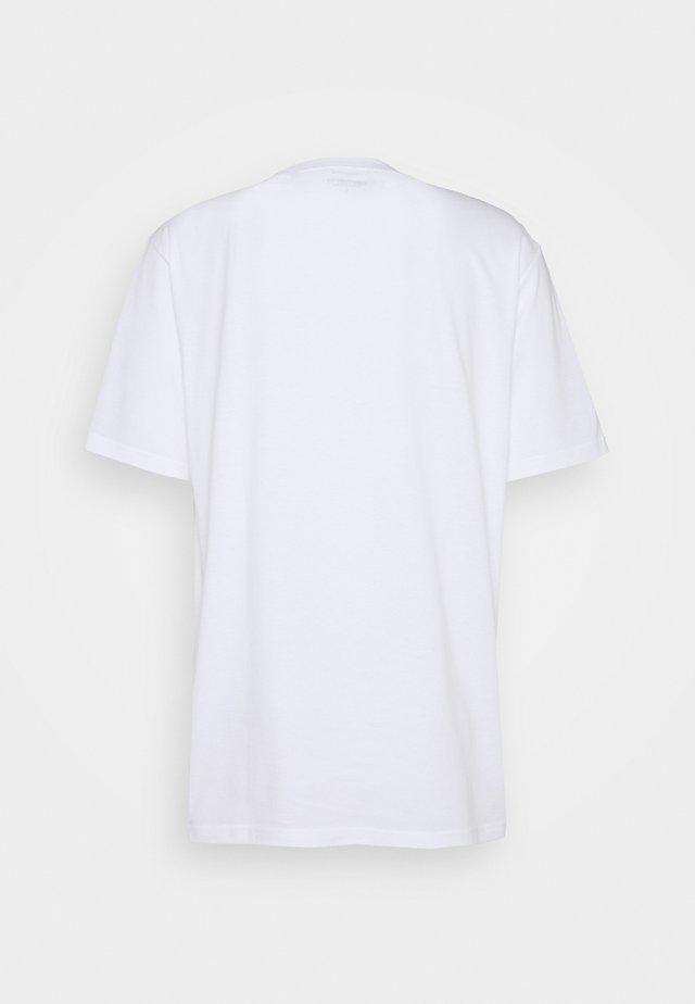CHROME - Print T-shirt - white