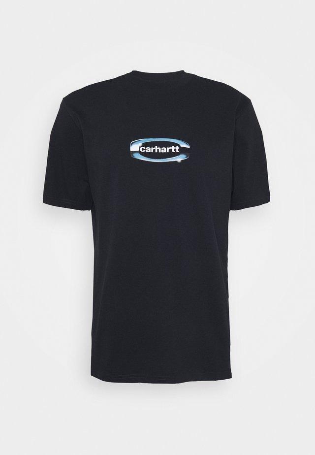 CHROME - Print T-shirt - dark navy
