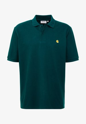 CHASE - Poloshirts - dark fir / gold