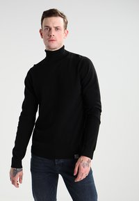 Carhartt WIP - PLAYOFF TURTLENECK - Jersey de punto - black rigid - 0