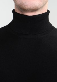 Carhartt WIP - PLAYOFF TURTLENECK - Jersey de punto - black rigid - 3