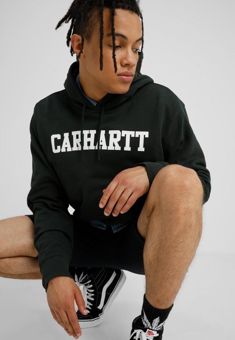 Loden CollegeSweat Hooded Wip Capuche white Carhartt À PXiukZ