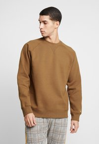 Carhartt WIP - CHASE  - Sweater - hamilton brown/gold - 0