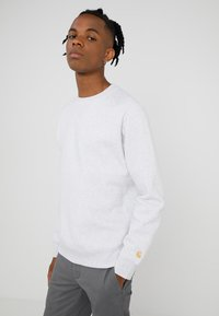 Carhartt WIP - CHASE  - Sweatshirt - ash heather/gold - 0
