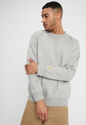 CHASE  - Collegepaita - grey heather/gold