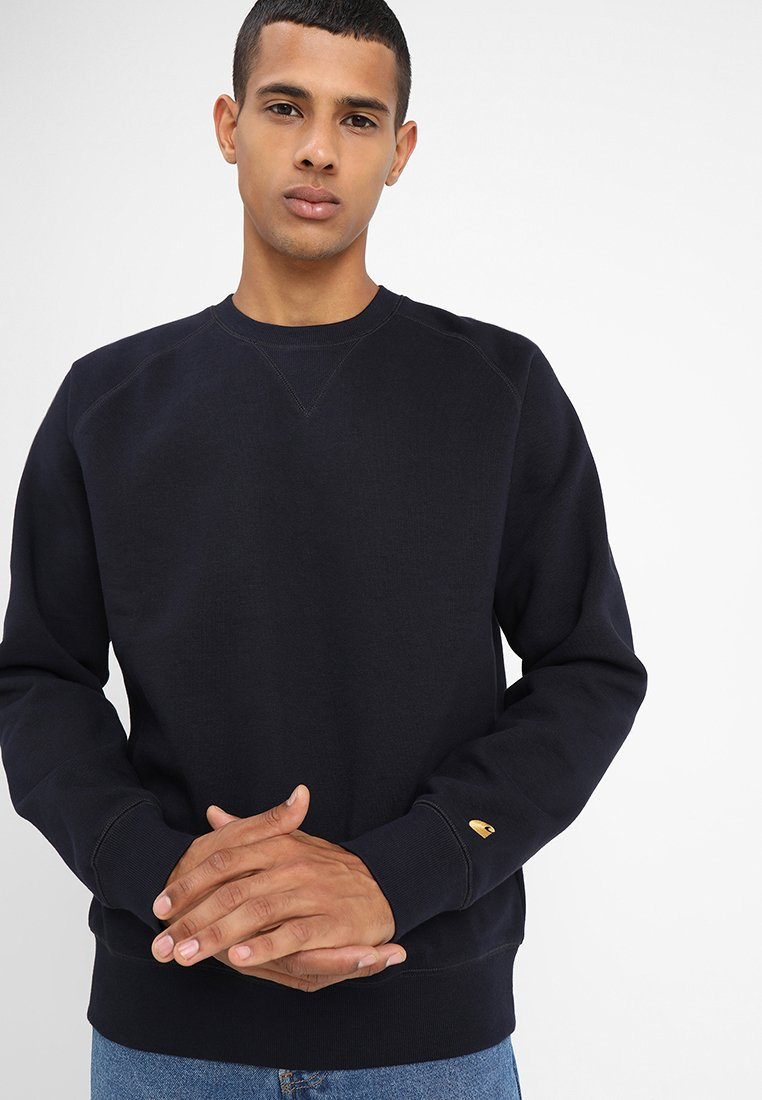 Carhartt WIP - CHASE  - Sweater - dark navy/gold