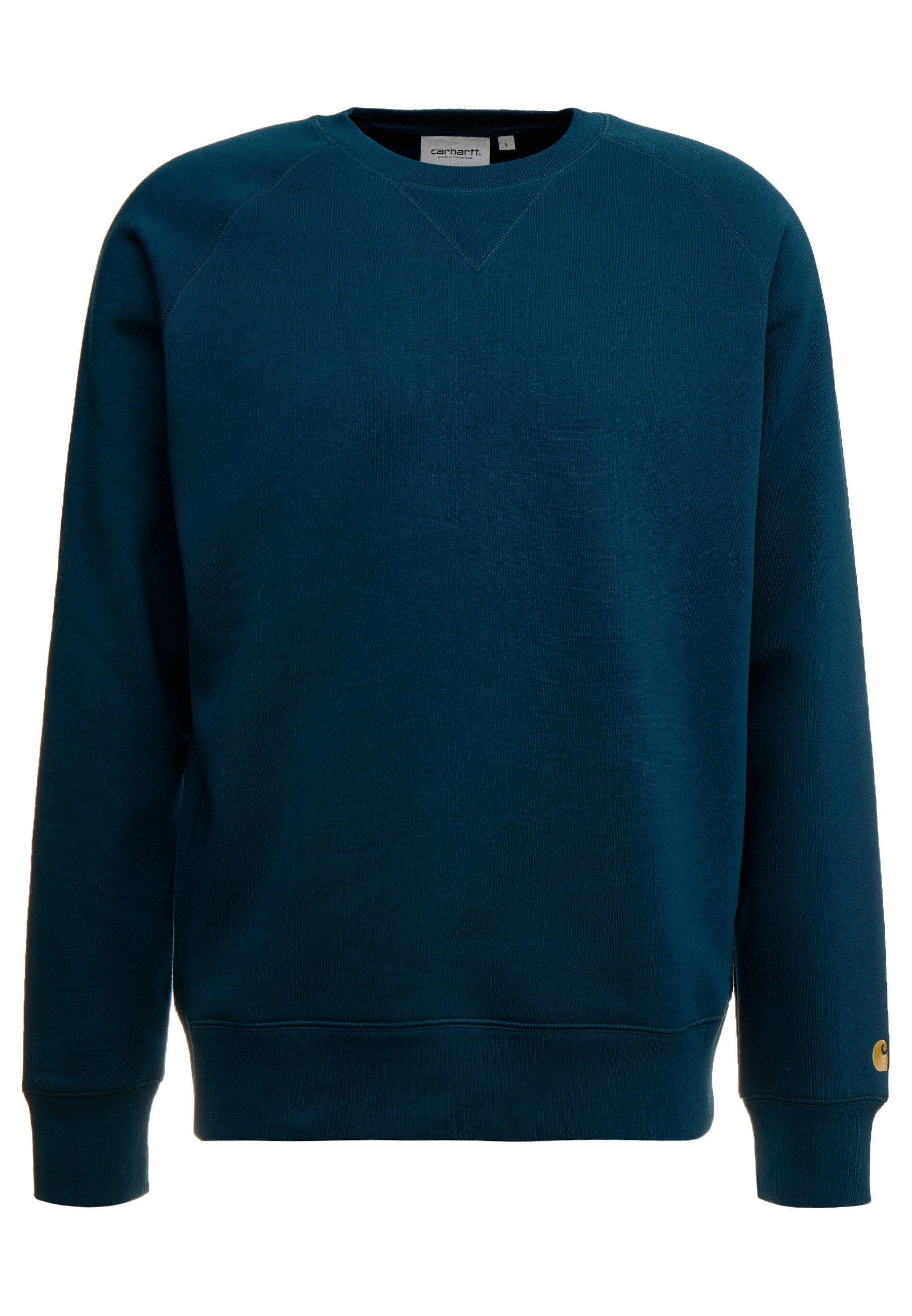 Carhartt WIP CHASE Sweatshirt duck bluegold ZALANDO.FR
