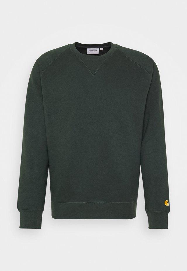CHASE  - Sweatshirt - dark teal /gold