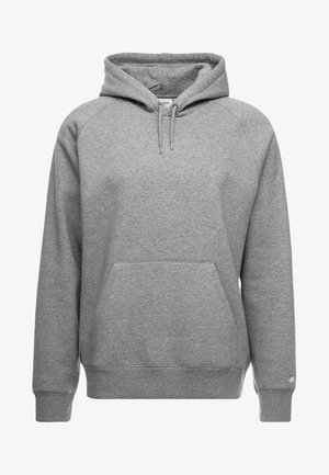 HOODED CHASE  - Bluza z kapturem - grey