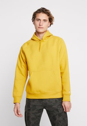 HOODED CHASE  - Luvtröja - colza / gold