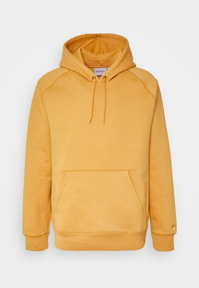 HOODED CHASE  - Jersey con capucha - winter sun/gold