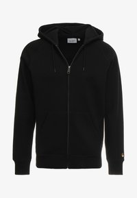 Carhartt WIP - HOODED CHASE - Luvtröja - black/gold - 5