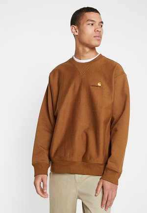 AMERICAN SCRIPT - Sweatshirt - hamilton brown