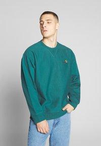 Carhartt WIP - AMERICAN SCRIPT - Sweatshirt - moody blue - 0