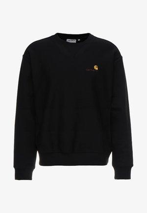 AMERICAN SCRIPT - Sweatshirt - black