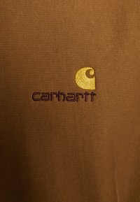 Carhartt WIP - HOODED AMERICAN SCRIPT - Mikina s kapucí - hamilton brown - 5
