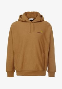 Carhartt WIP - HOODED AMERICAN SCRIPT - Mikina s kapucí - hamilton brown - 4