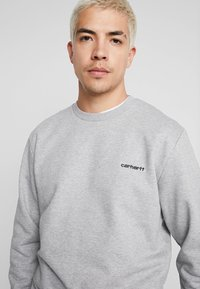 Carhartt WIP - SCRIPT EMBROIDERY - Sweatshirt - grey heather/black - 4