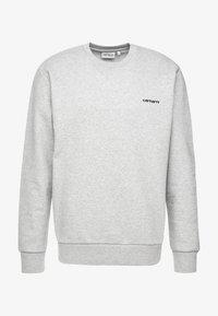 Carhartt WIP - SCRIPT EMBROIDERY - Sweatshirt - grey heather/black - 3