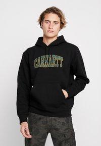 Carhartt WIP - HOODED THEORY - Hoodie - black - 0