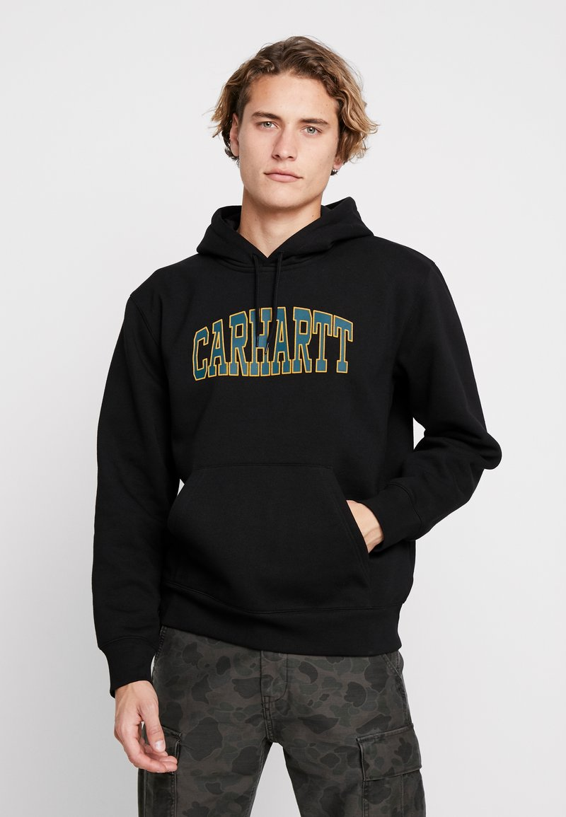 Carhartt WIP - HOODED THEORY - Bluza z kapturem - black