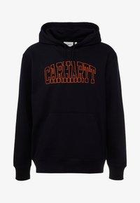 Carhartt WIP - HOODED THEORY EMBROIDERY - Hoodie - dark navy/brick orange - 3