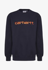 Carhartt WIP - Sweatshirt - dark blue/orange - 3