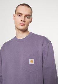 Carhartt WIP - POCKET - Sweatshirt - decent purple - 4