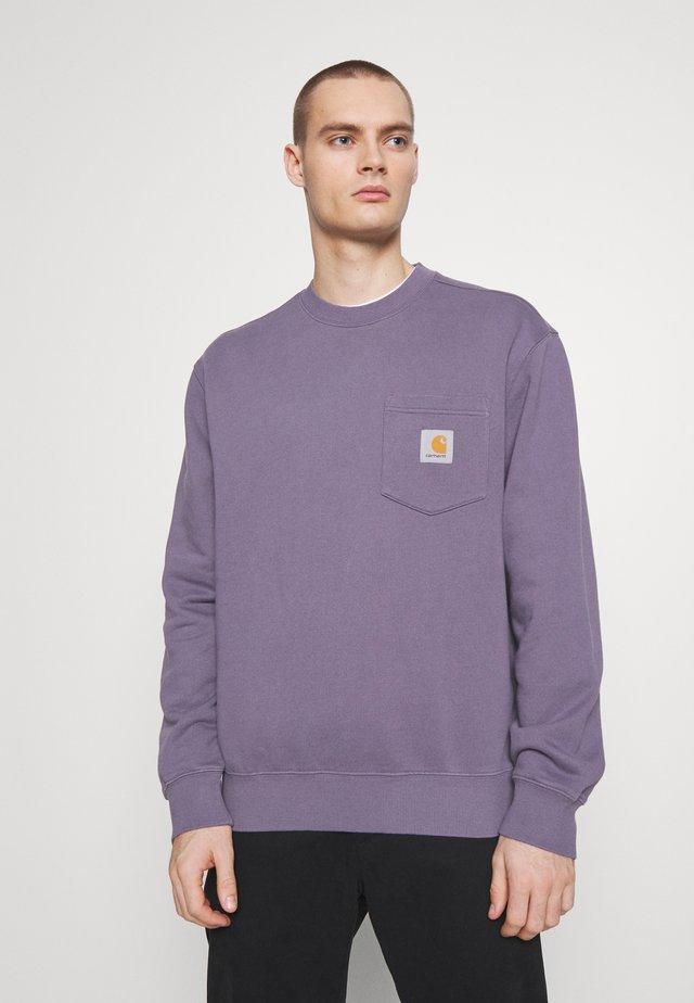 POCKET - Sweatshirt - decent purple