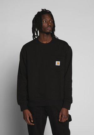 POCKET - Sweatshirt - black