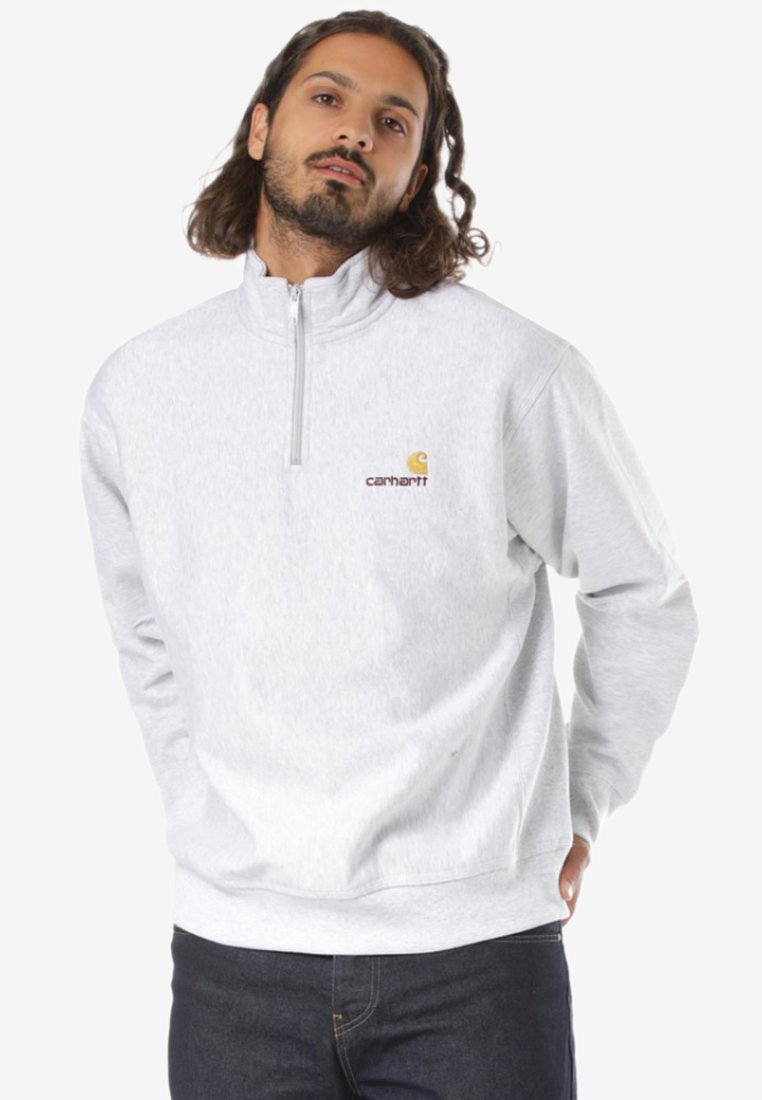 Carhartt WIP - AMERICAN SCRIPT - Sweatshirt - grey
