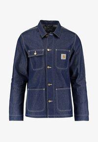 Carhartt WIP - MICHIGAN CHORE NORCO - Denim jacket - blue rigid - 4
