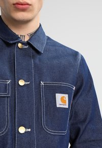 Carhartt WIP - MICHIGAN CHORE NORCO - Denim jacket - blue rigid - 3